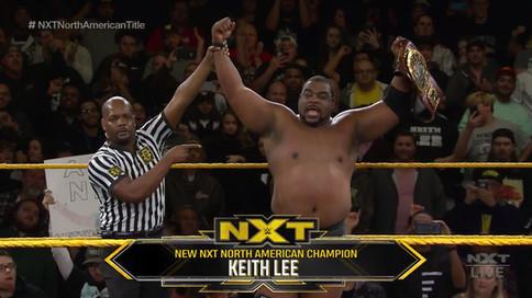 WWE NXT: Keith Lee se convierte en el NUEVO Campeón de Norteamérica