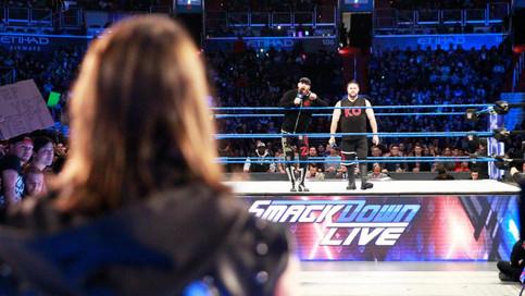 Martes de WWE: Styles en dos luchas en SmackDown LIVE; Asuka y The Miz ganan encuentro; NUEVO Gerent