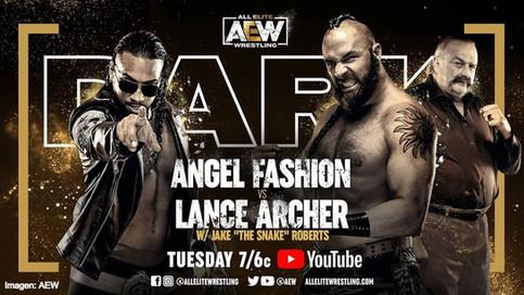 Angel Fashion regresa a AEW Dark a enfrentar al intimidante Lance Archer