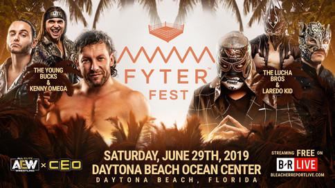 AEW: Cartelera actualizada para Fyter Fest; Laredo Kid a luchar junto a The Lucha Bros; Cómo verla g