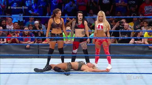 SmackDown LIVE: Encuentro titular confirmado para Clash of Champions; Debutan tres luchadoras de NXT
