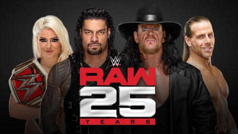 WWE se prepara para el Aniversario #25 de la marca RAW a celebrarse en enero de 2018