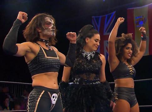 NWA: Melina Pérez hace aparición en el programa Powerrr junto a Thunder Rosa y Marti Belle