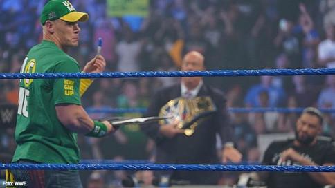 OFICIAL: John Cena retará a Roman Reigns por el Campeonato Universal en SummerSlam