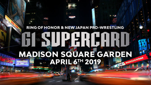 ROH y NJPW a celebrar G1 Supercard en el Madison Square Garden en New York