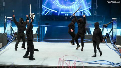 Misterioso grupo crea caos y pánico dentro de la WWE