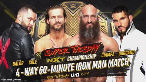 NXT: Cuatro hombres, 60 minutos, un NUEVO Campeón (VIDEO)