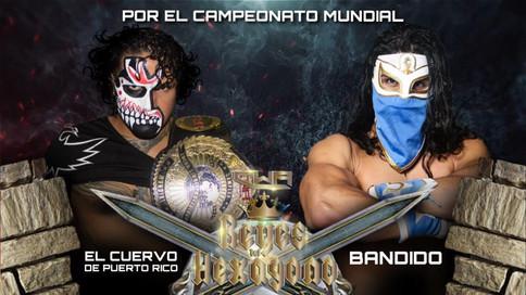OFICIAL: El Cuervo de Puerto Rico a defender Campeonato Mundial de CWA ante Bandido en Reyes del Hex