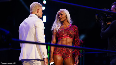 All Elite Wrestling firma a Jade Cargill para la división femenina