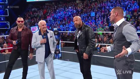 SmackDown 1000: Se reúne Evolution; NUEVOS Campeones; Undertaker envía mensaje; Mysterio y más