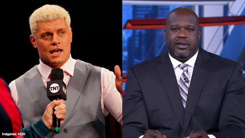 AEW: ¿Shaq a luchar contra Cody? Dominantes The Young Bucks y The Good Brothers en Dynamite (VIDEO)