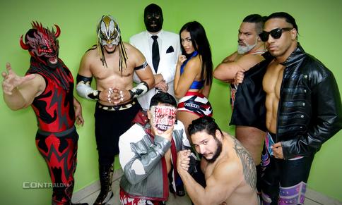 Talento boricua se deja sentir en cartelera celebrada en Miami; Lanny Poffo y The Warlord presentes