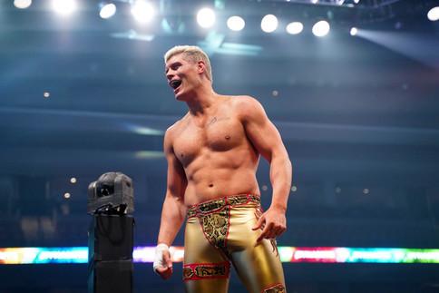 AEW Dynamite: Cody gana primer encuentro clasificatorio por el nuevo título de TNT