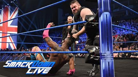 Notas de SmackDown LIVE: Owens y Zayn se reunen; Lucha de desventaja; Lacey Evans y más (VIDEOS)