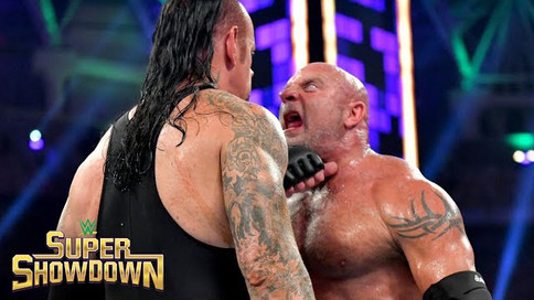 Notas de WWE Super ShowDown: Undertaker vence a Goldberg; Campeones retienen sus títulos (VIDEOS)