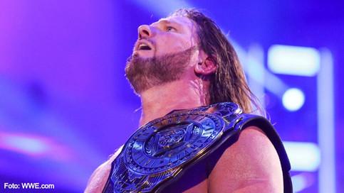 SmackDown: AJ Styles se convierte en el NUEVO Campeón Intercontinental de WWE