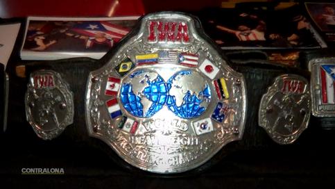 ULTIMA HORA: Campeonato de IWA a ser puesto en juego en cartelera Luchando Por Gustavo (VIDEO)