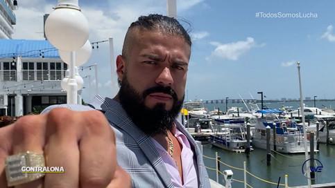 OFICIAL: Andrade El Ídolo es el primer LUCHADOR INTERNACIONAL que participará con LAWE (VIDEO)