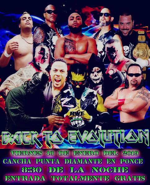 RWE presenta Back to Evolution esta noche en Ponce; Ricky Cruz de visita en la isla