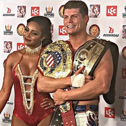 DOBLE CAMPEÓN: Cody viviendo el mejor momento de su carrera en la lucha libre (VIDEO)