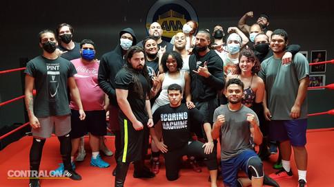 Junte de escuelas de Lucha Libre en Puerto Rico brinda taller especial a estudiantes