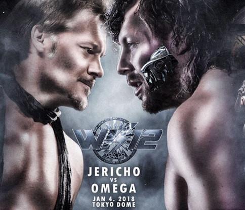 OFICIAL: Chris Jericho reta a Kenny Omega para el evento Wrestle Kingdom 12 de New Japan Pro-Wrestli
