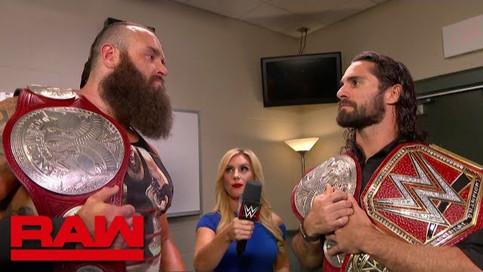 WWE: Rollins a defender título universal ante Strowman en Clash of Champions; Ambos a defender títul