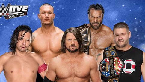 Cartelera para WWE LIVE en San Juan, Puerto Rico