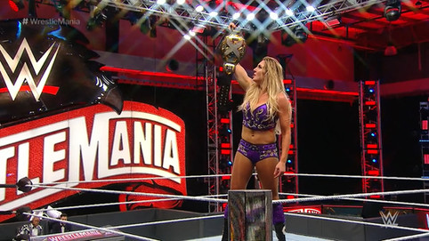 ÚLTIMA HORA: Charlotte Flair obtiene el Campeonato Femenino de NXT en WrestleMania 36