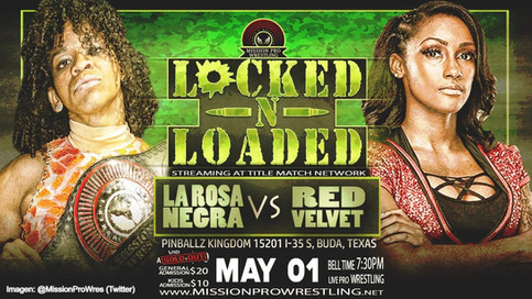 MAESTRA VS. ESTUDIANTE: La Rosa Negra a defender Campeonato de Mission Pro Wrestling ante Red Velvet