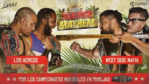 CWA presenta Summer Mayhem en el Coliseo Lauro Dávila de Toa Alta; Cartelera actualizada