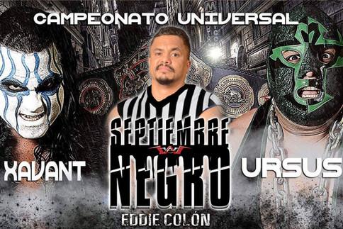 WWC: Primo Colón a ser árbitro especial esta noche en Septiembre Negro; Programa de hoy; Cartelera a