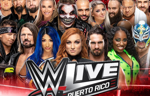 WWE: Encuentros y superestrellas confirmadas para cartelera en San Juan, Puerto Rico