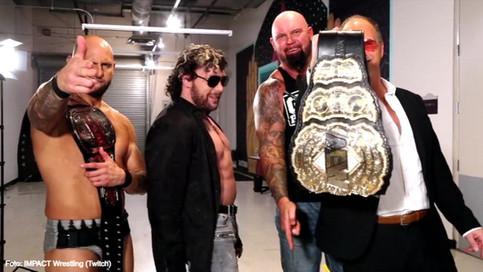 ÚLTIMA HORA: Se reúne el Bullet Club en IMPACT Wrestling; Omega a ver acción en Hard to Kill