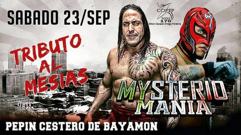 Rey Mysterio regresa a Puerto Rico en el evento MysterioManía: Tributo al Mesías