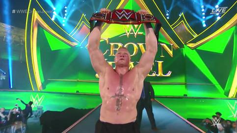 ULTIMA HORA: Brock Lesnar se consagra como NUEVO Campeón Universal de WWE