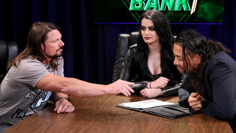 SmackDown LIVE: Firma de contrato de Styles/Nakamura para Money In The Bank, Charlotte Flair vs. Bec