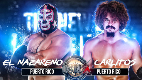 ULTIMA HORA: Cartelera completa para el evento debut de ICWA: THE NEW ERA HAS BEGUN
