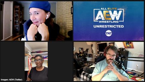 Sandra Gray en el podcast AEW Unrestricted (AUDIO)