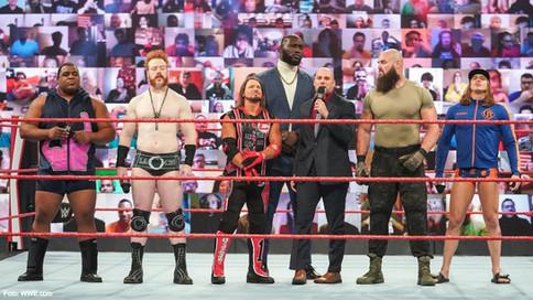 RAW: Riddle, Keith Lee y AJ Styles se disputarán oportunidad titular en triple amenaza (VIDEO)