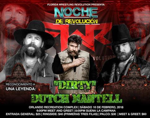 FWR: Fidel Sierra le contesta a El Bronco; Dutch Mantell a estar presente en Orlando
