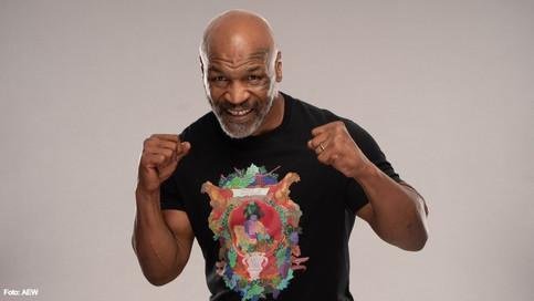 La leyenda del boxeo Mike Tyson regresa a AEW Dynamite este miércoles