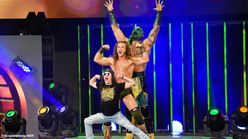 AEW Dynamite de regreso a los eventos EN VIVO en Miami, Austin y Dallas