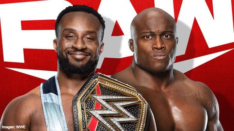 ÚLTIMA HORA: Big E a defender el Campeonato de WWE ante Bobby Lashley mañana en Raw