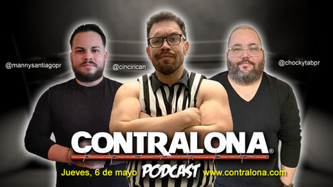 COMUNICADO: Contralona presenta el regreso de los Podcasts a sus plataformas digitales