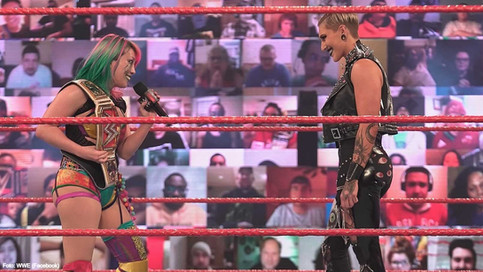 WWE RAW: Rhea Ripley en busca de DESTRONAR a Asuka en WrestleMania 37