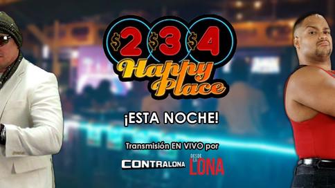 Leyendas y artistas a estar presentes en 234 Happy Place