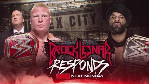 SmackDown LIVE: Mahal reta a Lesnar para Survivor Series; Shane a regresar la próxima semana