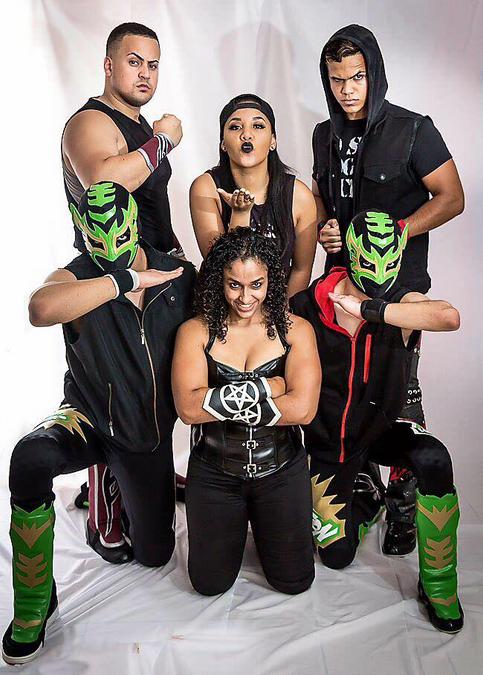 Untraditionals: 7 jóvenes talentos con un mismo fin en la Lucha Libre