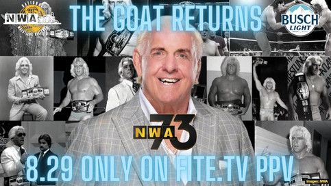 ÚLTIMA HORA: 'The Nature Boy' Ric Flair regresa a NWA en el Aniversario #73 (VIDEO)